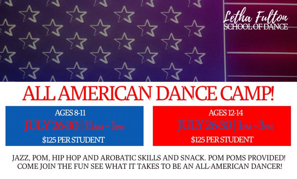 All American Dance Camp