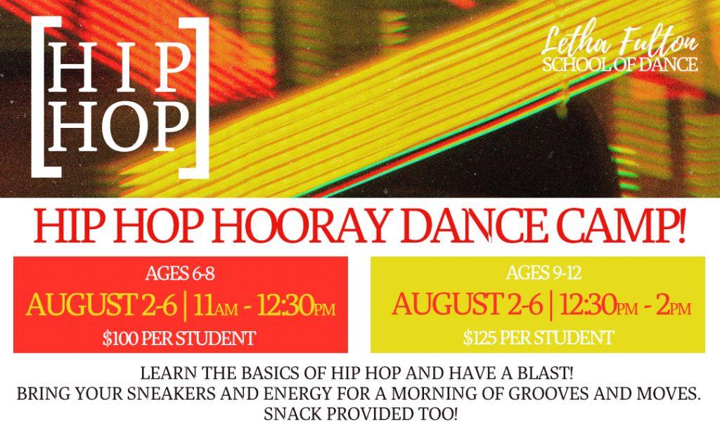 HiP HoP HooRAY! Dance Camp