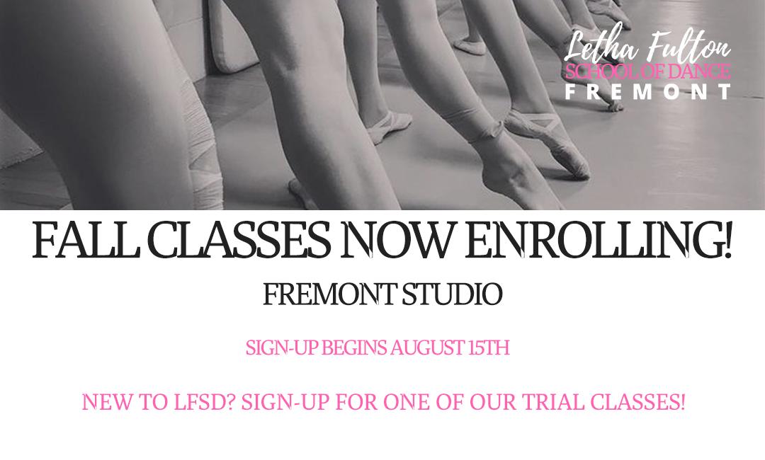 Fall Enrollment Fremont